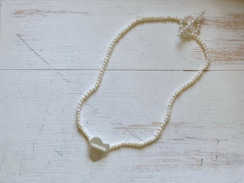 heart shell choker
