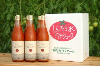 深層水トマトジュース6本入りダンボール箱