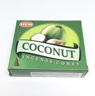 お香 HEM社 ココナッツ コーンタイプ