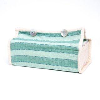 ターイ族 手織り ティッシュカバー0017