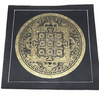 曼陀羅(曼荼羅) ◆約26×26cm