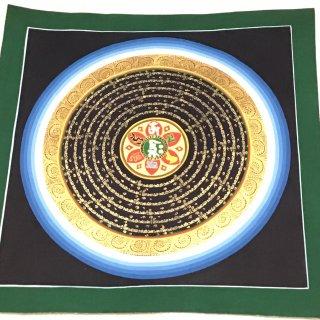 曼陀羅(曼荼羅) ◆約32×32cm