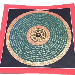 曼陀羅(曼荼羅) ◆ 約34×34cm