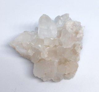 ヒマラヤ山脈マニカラン産ピンク水晶クラスター49g