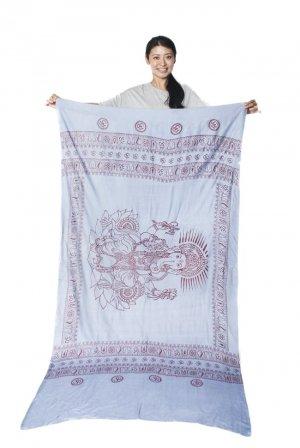 ガネーシャのラムナミスカーフ
