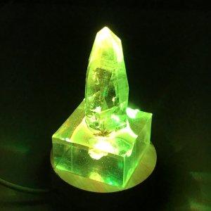 ガネーシュヒマール産水晶ライト付