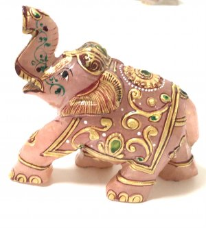ローズクォーツの象さん