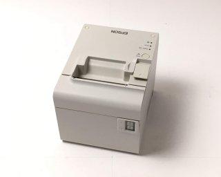 【厳選Reuse】レシートプリンタ EPSON TM-T90KP(LAN/80mm)ホワイト