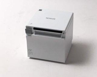 【厳選Reuse】レシートプリンタ EPSON TM-M30 (LAN・USB/80mm・58mm)ホワイト