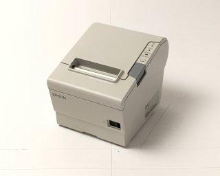 【Reuse】EPSON  レシートプリンター TM-T885(USB・RS232C/80mm)ホワイト