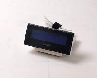 【Reuse】EPSON カスタマディスプレイ DM-D30(USB)ホワイト