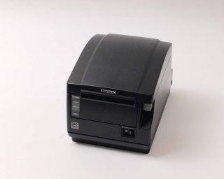 【Reuse】CITIZEN レシートプリンタ CT-S651(LAN/80mm)グレー(電源付)