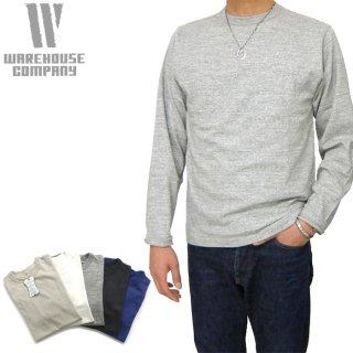 [メール便可]ウエアハウス WAREHOUSE [5906] ロンT  長袖クルーネックTシャツ L/S CREW NECK TEE