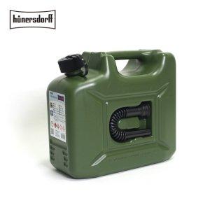 Hunersdorff ヒューナースドルフ [容量10L]ジェリカン Jerrycan 燃料タンク フューエルカンプロ  PROFI 給水タンク 携行缶