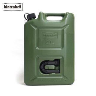 Hunersdorff ヒューナースドルフ [容量20L]ジェリカン Jerrycan 燃料タンク フューエルカンプロ  PROFI 給水タンク 携行缶