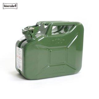 Hunersdorff ヒューナースドルフ [容量10L]メタルキャニスター METAL KANISTER ジェリカン Jerrycan 燃料タンク 給水タンク 携行缶