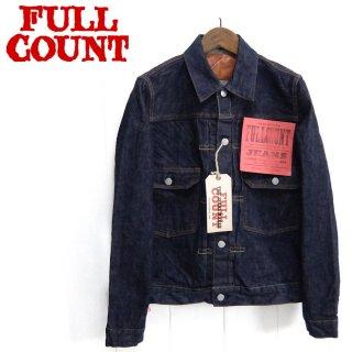 フルカウント FULL COUNT [2870W] セカンド タイトフィットモデル Gジャン 2nd TIGHT FIT(2nd MODEL) ONE WASH