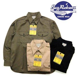 バズリクソンズ BuzzRickson's [BR26081] ヘリンボーン ワークシャツ/HERRINGBONE WORK SHIRT