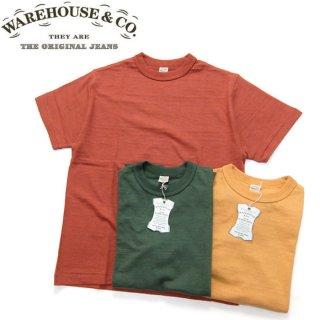 [メール便可]ウエアハウス WAREHOUSE [4601PLAIN] 半袖Tシャツ プレーンTシャツ シャドーボーダー