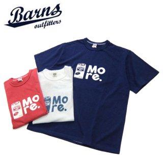 [メール便可]バーンズ BARNS[BR-8309]半袖プリントTシャツ