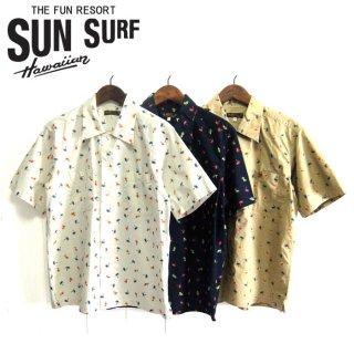 サンサーフ SunSurf [SS38406]コットンツイル 半袖 レギュラーシャツ