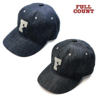 フルカウント FULL COUNT [6843] 6パネル デニム ベースボールキャップ 6PANEL DENIM BASEBALL CAP