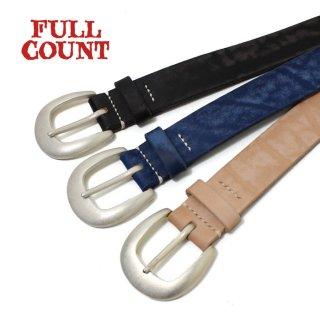 フルカウント FULL COUNT [6210] 牛革 ワイルドレザーベルト WILD LEATHER BELT