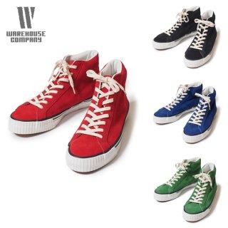 ウエアハウス WAREHOUSE 3401 ハイカット スエードスニーカー Hi Cut Suede Sneaker