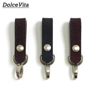 [メール便可]ドルチェビータ Dolce Vita/日本製/ループキーホルダー スティングレイ Loop key holder Stingray[HLD1-STIN]
