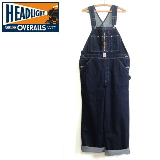ヘッドライト HEAD LIGHT[HD41959]オーバーオール MADE IN USA, NEW OLD STOCK, 12oz CONE DENIM, HIGH BACK OVERALLS