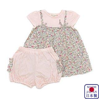 小花柄ワンピーススーツ(70-80cm)