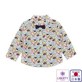 キューフォーザズー蝶タイ付きシャツ(80〜120cm)