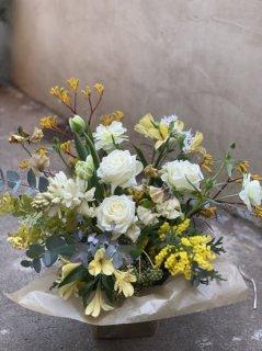 季節の花のアレンジメント XL