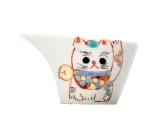 九谷焼ミルチュウ 招き猫