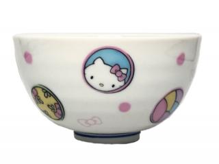 九谷焼お茶碗 ハローキティ 丸紋