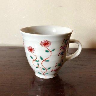九谷焼マグカップ 萌 銀舟窯
