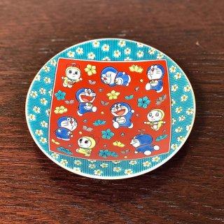 ドラえもん小皿(12cm) 木米風・梅花