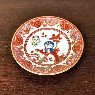 ドラえもん小皿(12cm) 飯田屋風・八郎手