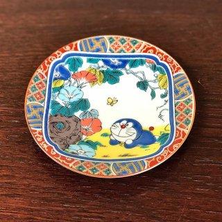 ドラえもん小皿(12cm) 庄三風・彩色金襴手