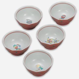 小鉢揃(3.5号) 江戸玩具