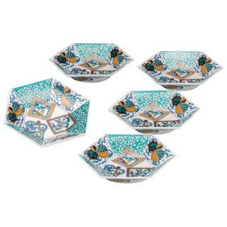 小鉢揃(6号) 色絵宝紋