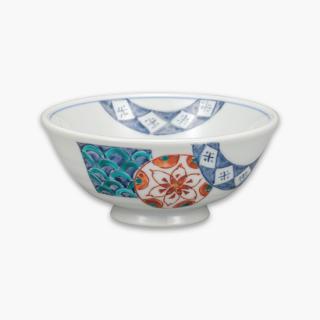 飯碗 花丸紋