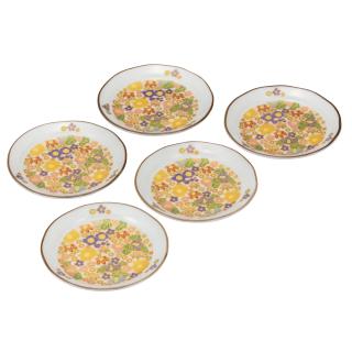 皿揃(4.5号) 花詰