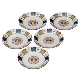皿揃(4.8号) 宝文/銀泉窯
