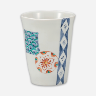 フリーカップ 花丸紋