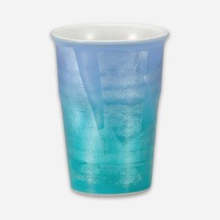 フリーカップ 二色銀彩