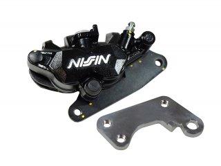 Z125 PRO フロント用 NISSIN製・ニッシン 2POTキャリパー 黒