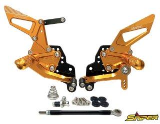 GSX-R125 GSX-R150 GSX-S125 GSX-S150 バックステップ金 ABS対応4ポジション+ レーシング用6ポジション