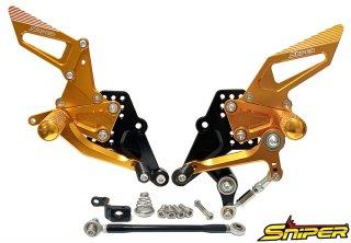 CBR250RR MC51 バックステップ金 ABS対応3ポジション+ レーシング用6ポジション