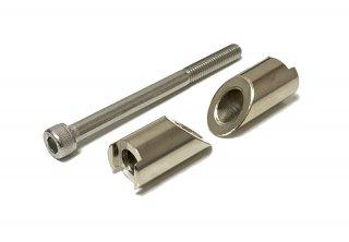 レバーガード用 ハンドル内径変換アダプター 17-19mm
